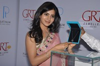 Samantha At GRT Jewellers Launch