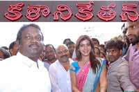 Samantha Launches Kalaniketan Showroom