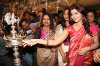 Samantha at Kalamandir Showroom Launch