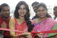 Samantha at Kalaniketan Showroom Launch
