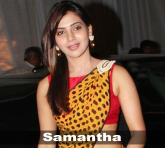 Samantha Beautiful Stills In Saree