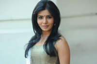 Samantha Interview Stills in SVSC