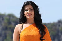 Samantha Orange Saree Photos