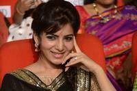Samantha at Attarintiki Daaredi Audio Launch