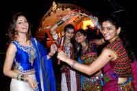 Shilpi Sharma at Dildar Dandiya 2014 Photos