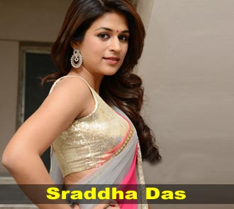 Shraddha Das at Rey Teaser Launch