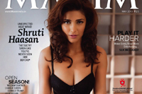 Shruti Hassan Maxim Magazine Hot Photos