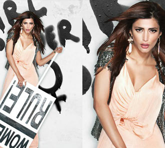 Shruti Hassan Filmfare Photoshoot