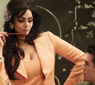 Sridevi Photo Shoot for Vogue Magazine