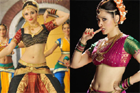 Tamanna Navel Show in CGTR