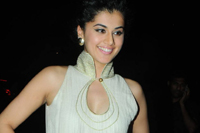Tapsee Stills at Shadow Audio
