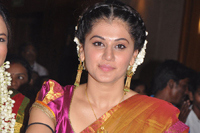 Taapsee Photos in Half saree