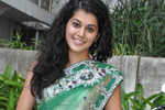 Tapsee Saree Photos