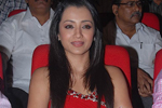 Trisha at Bodyguard Audio