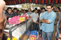 Celebrities at Uday Kiran Pay Homage
