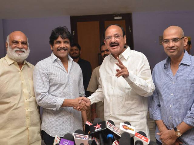 Om Namo Venkatesaya Movie Events