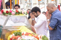 Jr NTR Pays Homage to ANR