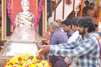 Prabhas and Rana Pays Homage to ANR