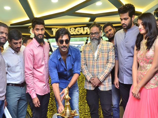 Aadi Pinisetty launches Toni Guy Salon At Film Nagar
