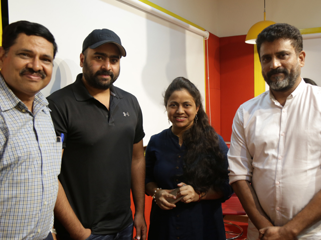 Aatagallu Movie Nee Valle Song Launch at Red FM
