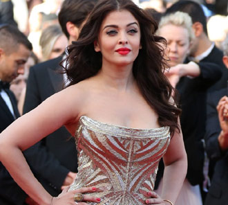 Aishwarya Rai at Cannes 2014 Photos