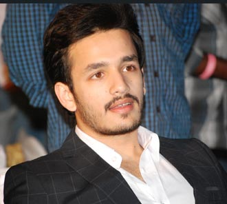Akhil at Telugu Warriors CCL 4 Logo Launch