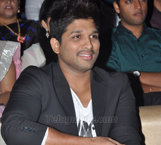 Allu Arjun Photos at Race Gurram Audio