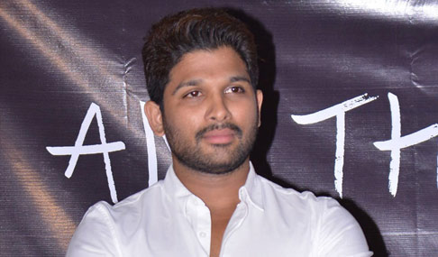 Allu Arjun at I Am That Change
