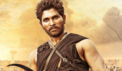 Allu Arjun in Rudramadevi Photos