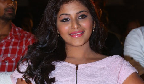 Anjali Stills at Geethanjali Audio Launch