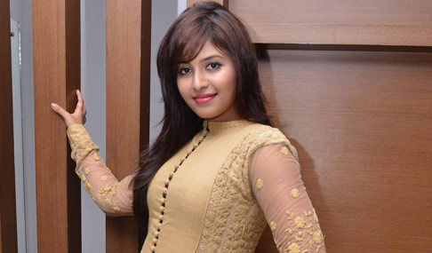 Anjali at Geetanjali Movie Success Meet