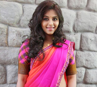 Anjali in Half Saree Photos