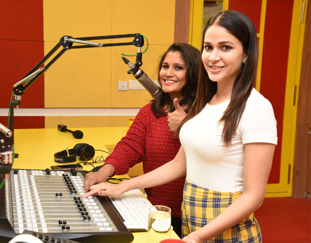 Arjun Suravaram Movie Song Launch at Radio Mirchi