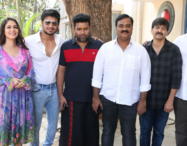Arjun Suravaram Press Meet Photos