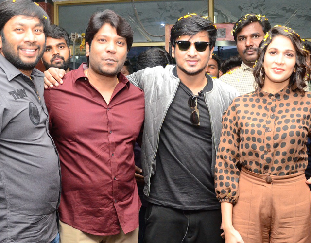 Arjun Suravaram Theatrical Trailer Launch