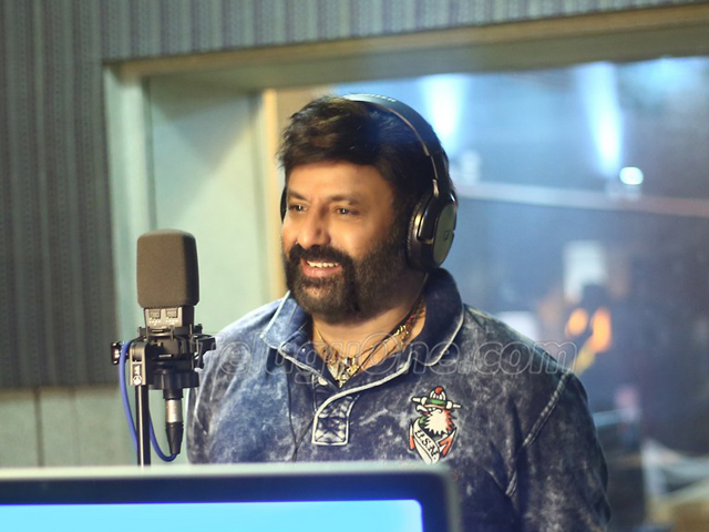 Balakrishna Singing Song