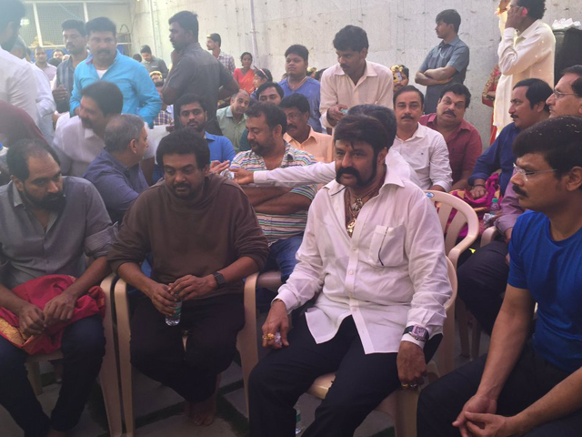 Balakrishna and Puri Movie Launch
