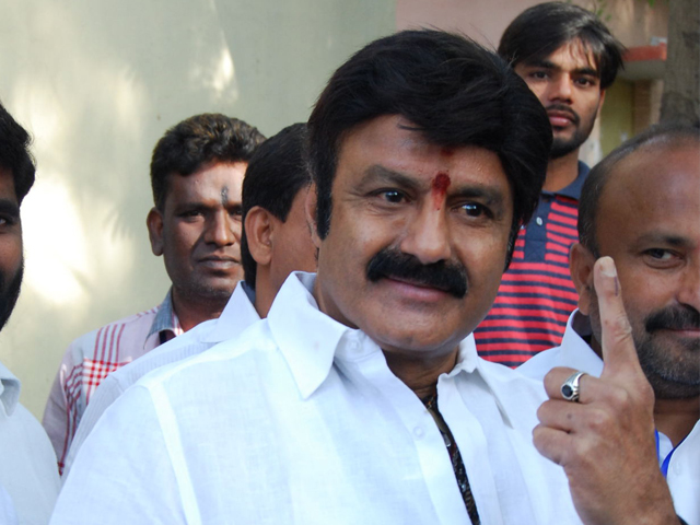 Balakrishna Photos at 2016 GHMC Elections