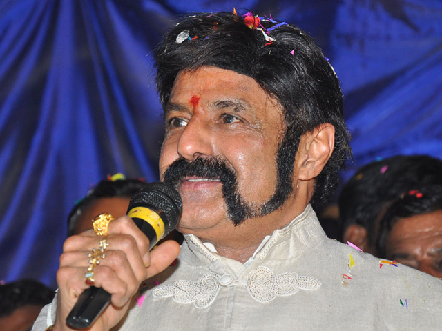 Balakrishna Stills at GPSK Trailer Launch