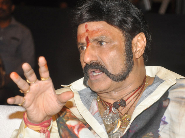 Balakrishna Stills at Nayaki Audio Launch