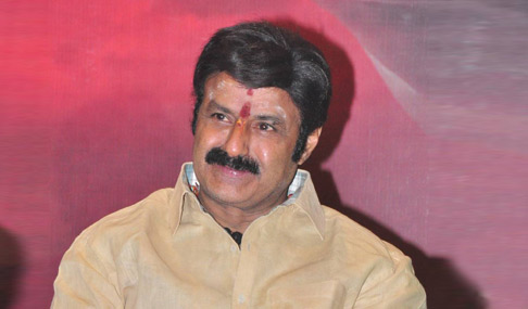 Balakrishna at Lion Movie Success Meet