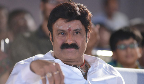 Balakrishna at Mirchi Lanti Kurradu Audio Function