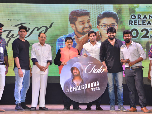 Chalo Movie 3rd Song Launch Photos
