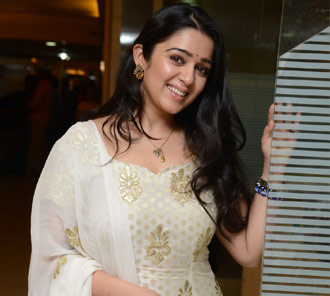 Charmi Stills at Radio Mirchi