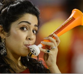 Charmi at CCL 4 Match Photos