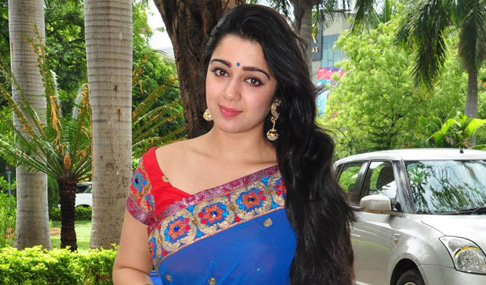 Charmi at Jyothi Lakshmi Success Meet