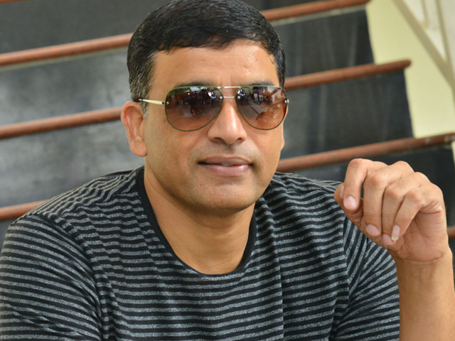 Producer Dil Raju Lover Interview Photos