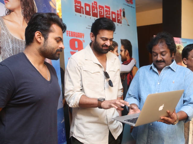 Prabhas Launched Intelligent Songs