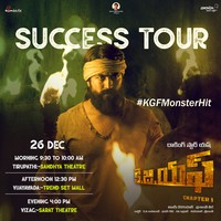 Kgf Movie Success Tour Poster Kgf Movie New Poster Kgf Movie Hd