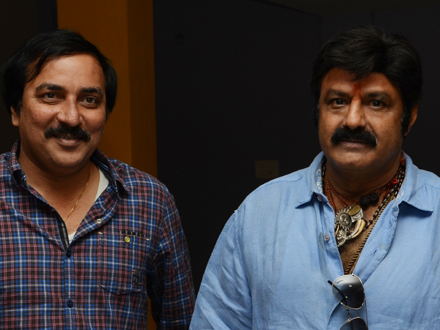 Balakrishna Watched Kvpg Movie Photos